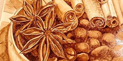 Онлайн курс Рисование кофейным раствором