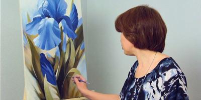 Онлайн курс Ботаническая живопись маслом