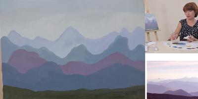 Работаем масляными красками - St'Art
