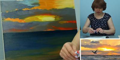 Работаем над морем и небом - St'Art
