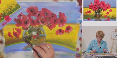 Цветы и пейзаж - St'Art