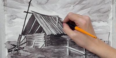 Завершаем работу над ветхим домом - St'Art