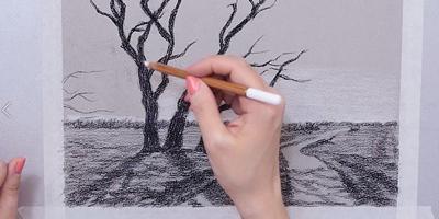 Проработка деталей пейзажа - St'Art