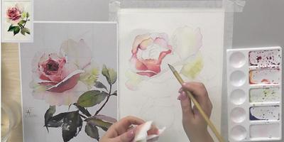 "Выполнение композиции ""Роза"" - St'Art"