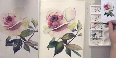 Детальная работа над цветком - St'Art