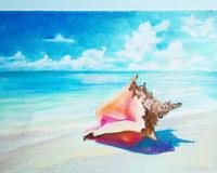 Референс для урока Морской пейзаж - St'Art