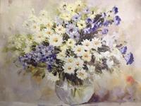 Референс для урока Пишем этюд «Полевые цветы» в стеклянной вазе (часть1) - St'Art