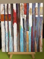 Работа ученика Анна Кутлеева по курсу Интерьерная картина
