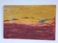 Работа ученика Александра Бурлакова по курсу Интерьерная картина